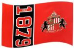 Sunderland Football Club Large 5ft x 3ft Flag (SN)
